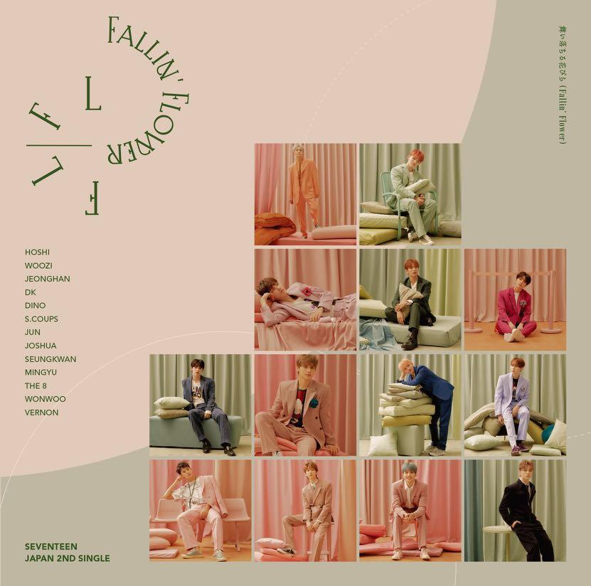 [BATCH PREORDER] SEVENTEEN 2nd Japan Single Fallin' Flower Group Order