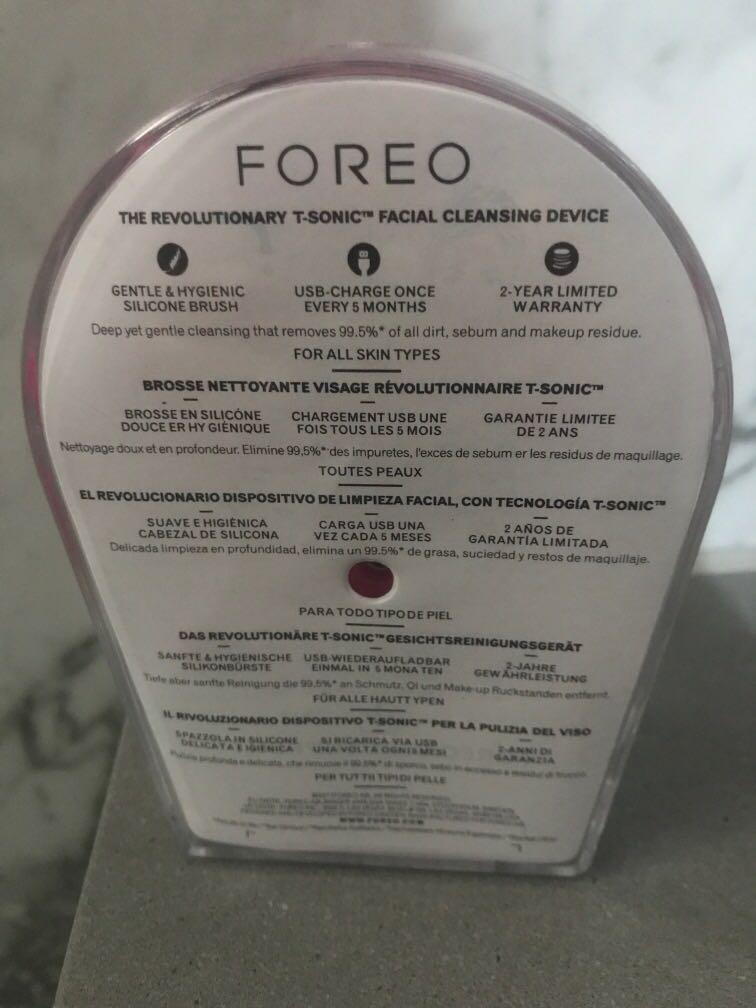 Foreo Luna mini 2 t-sonic facial cleansing device fuschia BNIB