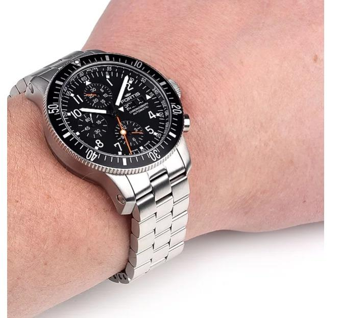Fortis Space Watch Cosmo 638.27.71M B42 Limited Numbered Edn 133/500 Date Chronograph over 12 years mint condition
