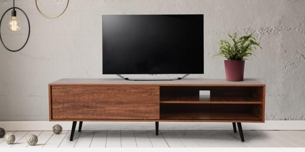 HARPER Lowline Wood TV Stand Entertainment Cabinet, BRAND NEW IN BOX. OBO