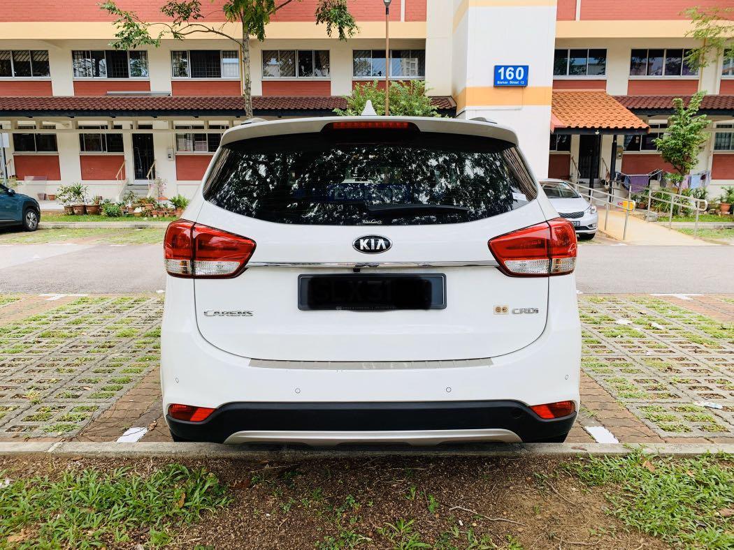 Kia Carens 1.7 SX Diesel DCT (A)