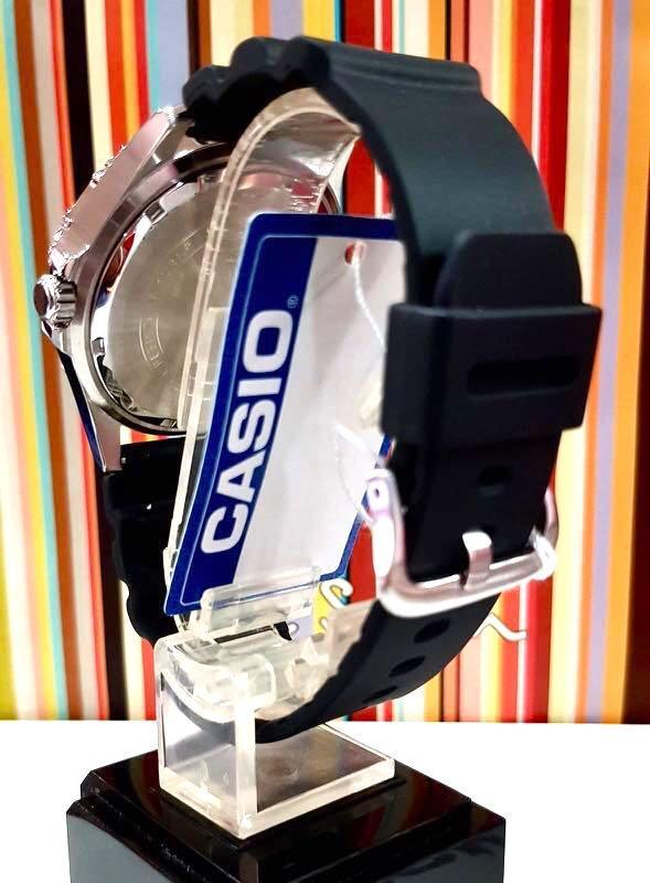 NEW🌟 MARINE CHRONOGRAPH CASIO UNISEX SPORTS WATCH : 100% ORIGINAL AUTHENTIC :  By G-SHOCK ( GSHOCK ) COMPANY : MTD-1086-1AVDF (DESIGNED by SEiKO )