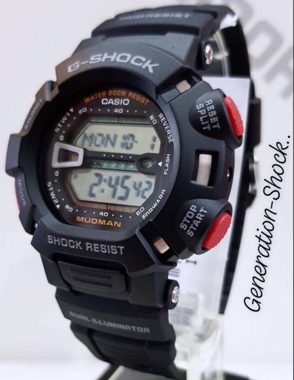 NEW🌟COUPLE💝SET : GSHOCK DIVER UNISEX SPORTS WATCH : 100% ORIGINAL AUTHENTIC CASIO G-SHOCK : G-9000-1V + G-9000-3V