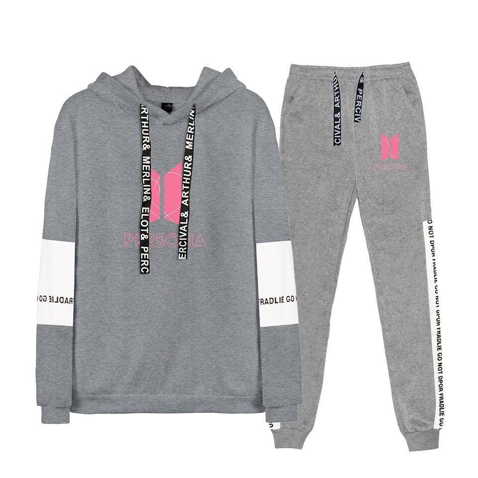 One Set of BTS Maps of the Soul Persona Hoodie and Sweatpants