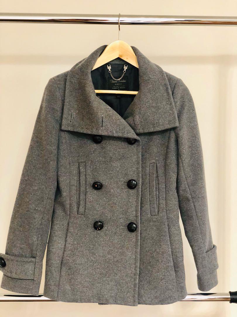 Perfect condition Aritzia grey coat Talula peacoat jacket