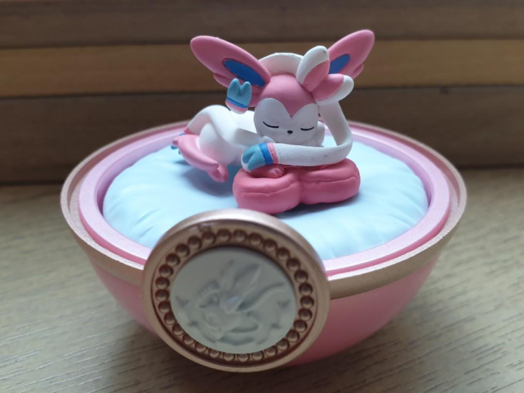 Pokemon Re Ment Dreaming Case 2 Sylveon Figurine Toys Games Bricks Figurines On Carousell