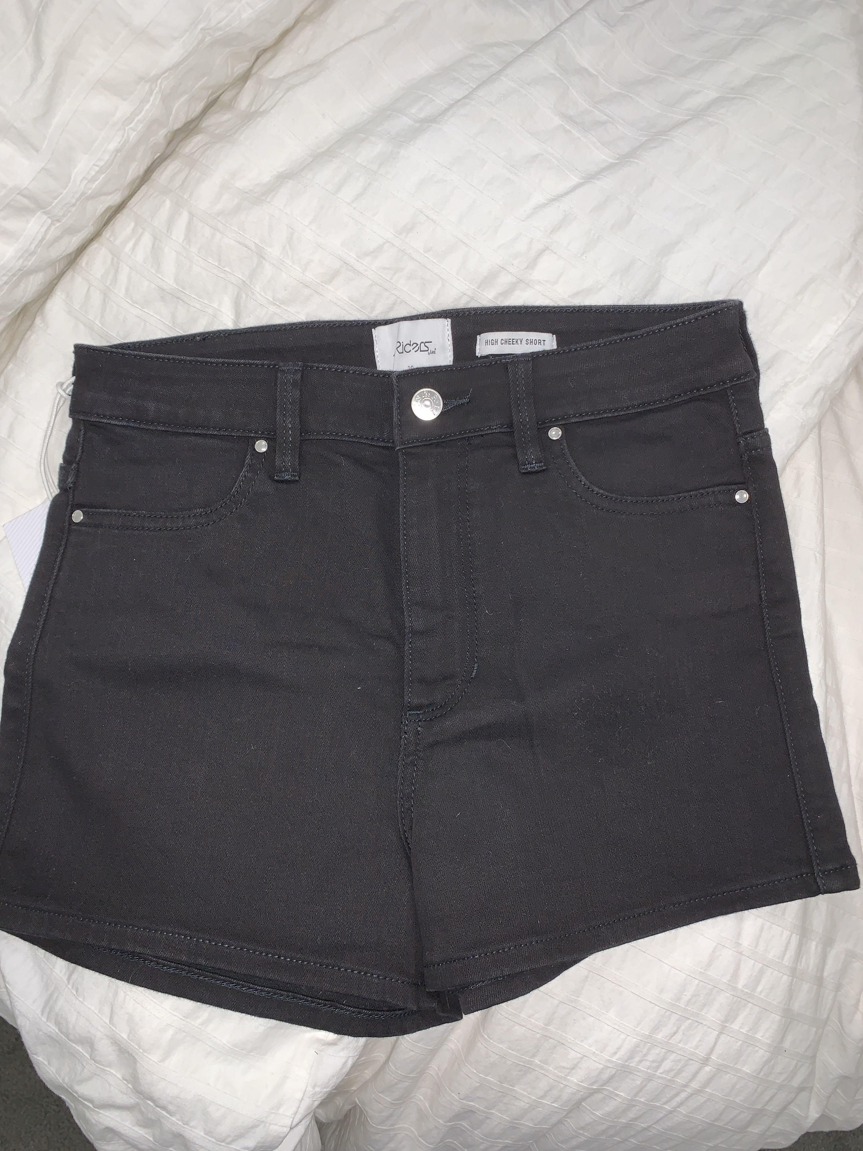 RIDERS BY LEE high cheeky short super fitted shorts