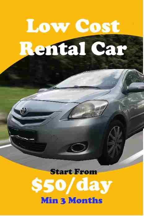 💰Save Cost Earn More Car Rental💰
