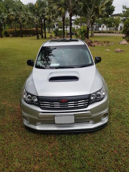 Subaru Forester 2.5A Turbo for Rent