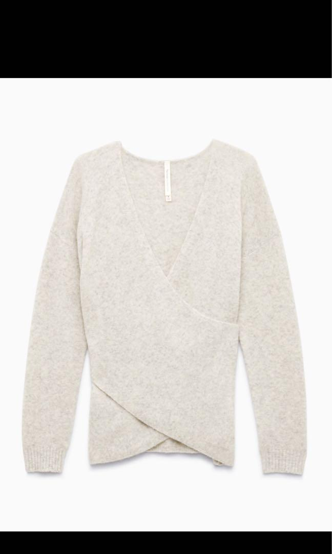 The Group by Babaton Bandini Sweater in Winter White, XS