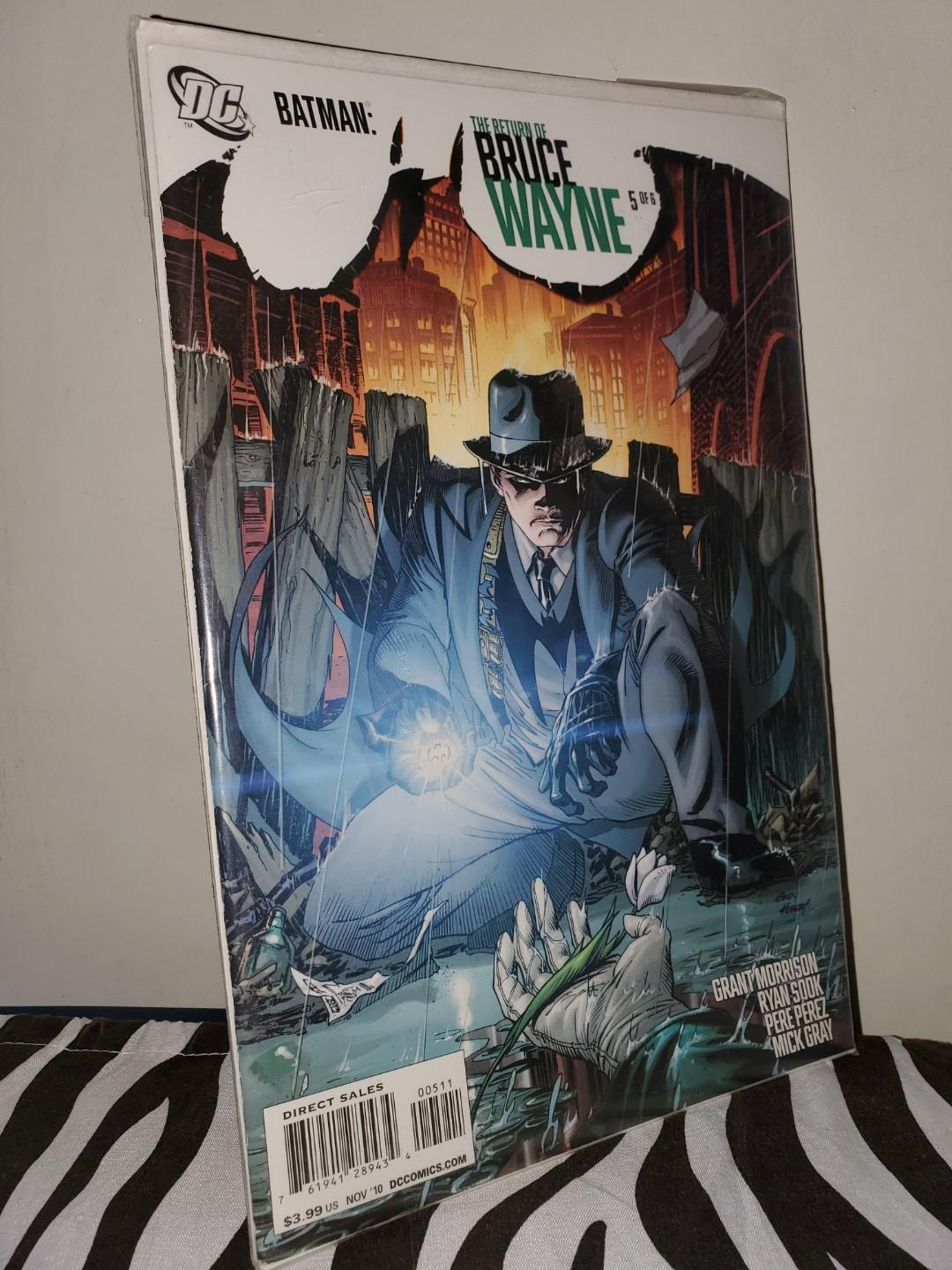 The Return of Bruce Wayne (Batman comics. Complete all 6 volumes)