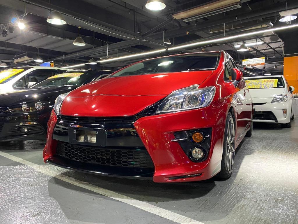 Toyota Prius 再一次番罕有紅色Prius G's Auto