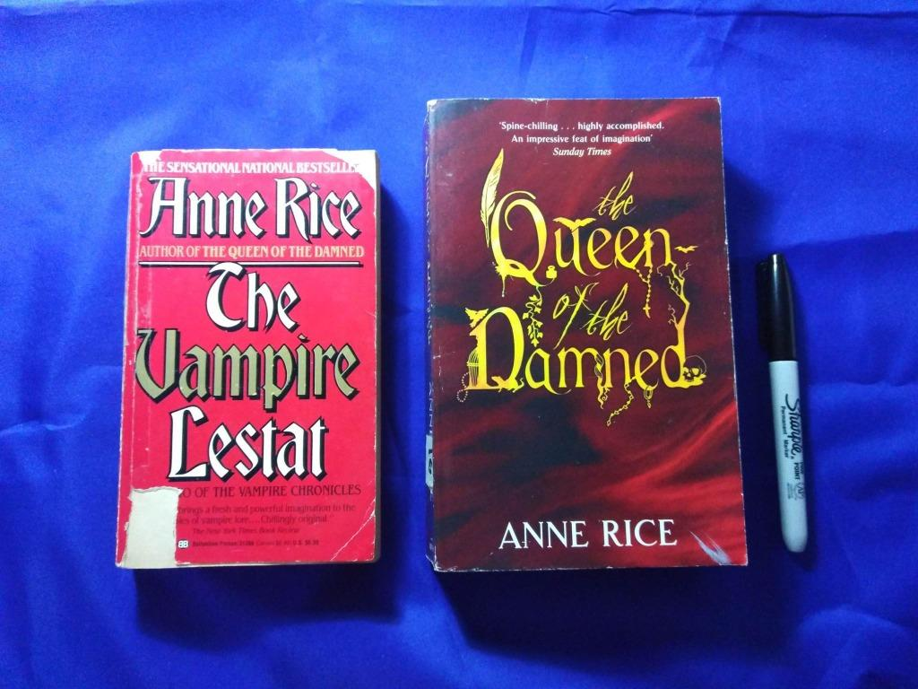 Vampire Chronicles #s 2&3 (The Vampire Lestat and The Queen of the Damned) by Anne Rice