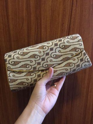 SALE! Printed clutch from Bali