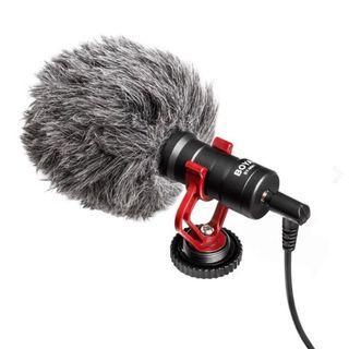 【華揚數位】【現貨】☆全新 BOYA BY-MM1手機錄音麥克風 適用手機 相機 電腦 直播 錄音 附防風兔毛罩 公司貨