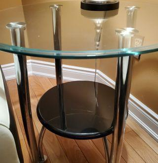 Selling Glass Center Table and Side Tables