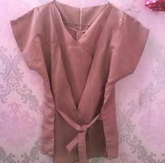 Blouse Kimono DustPink