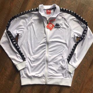 White Kappa Jacket