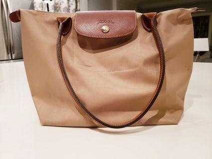 Authentic Longchamp Le Pliage Folding Tote Bag