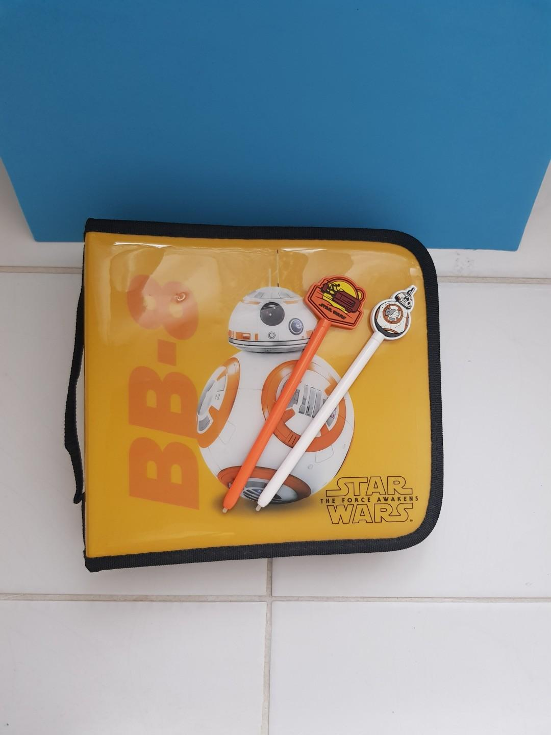 BB8 Star Wars The Force Awakens 3DS or DS travel case + stylus