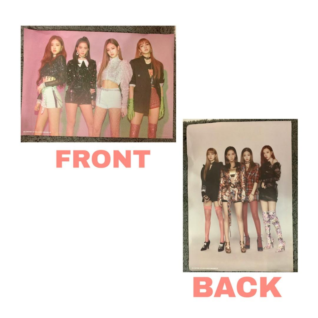 Blackpink square up album (pink version) +include poster