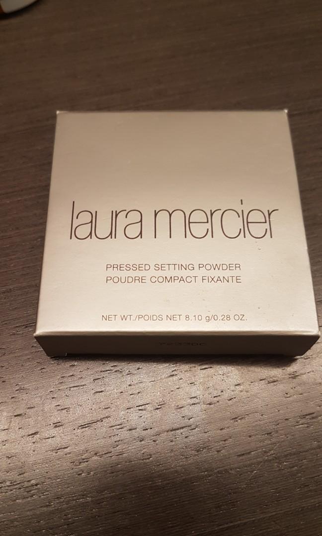 BNIB laura mercier translucent pressed setting powder