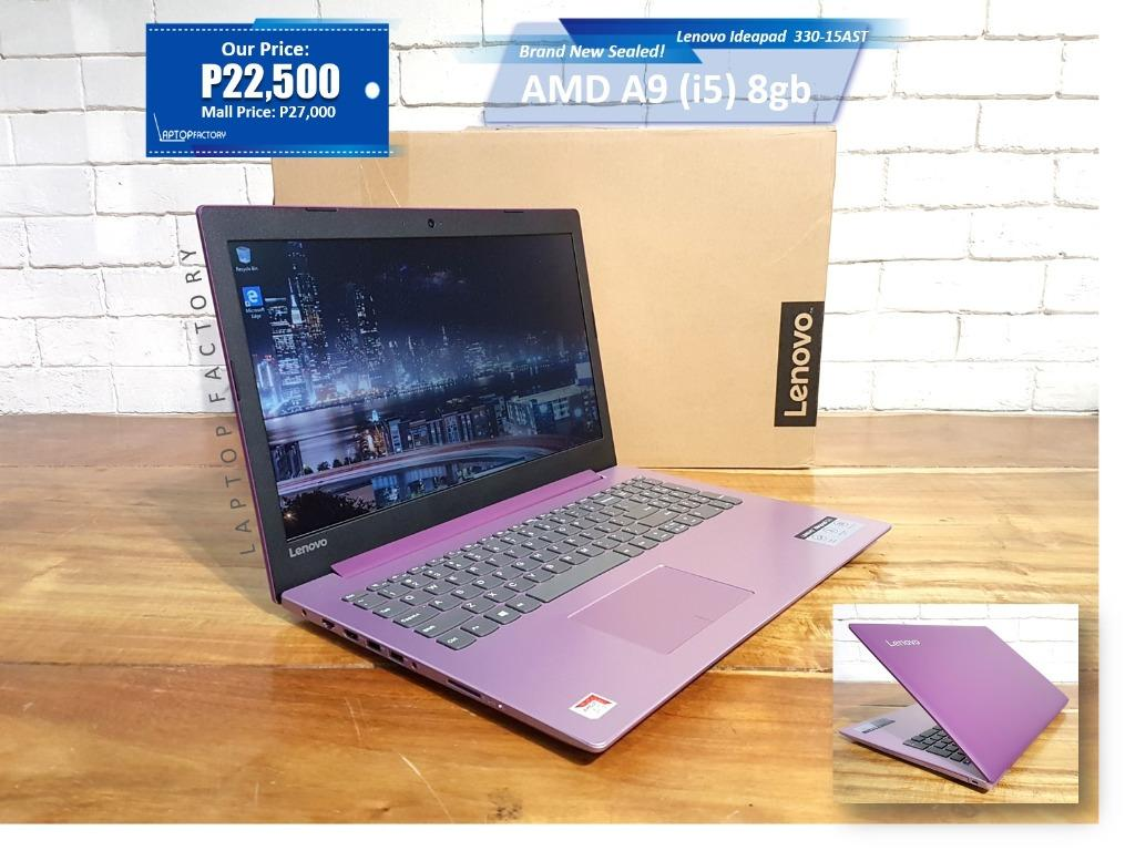 Brandnew Sealed Lenovo 330 Amd A9 I5 Electronics Computers Laptops On Carousell