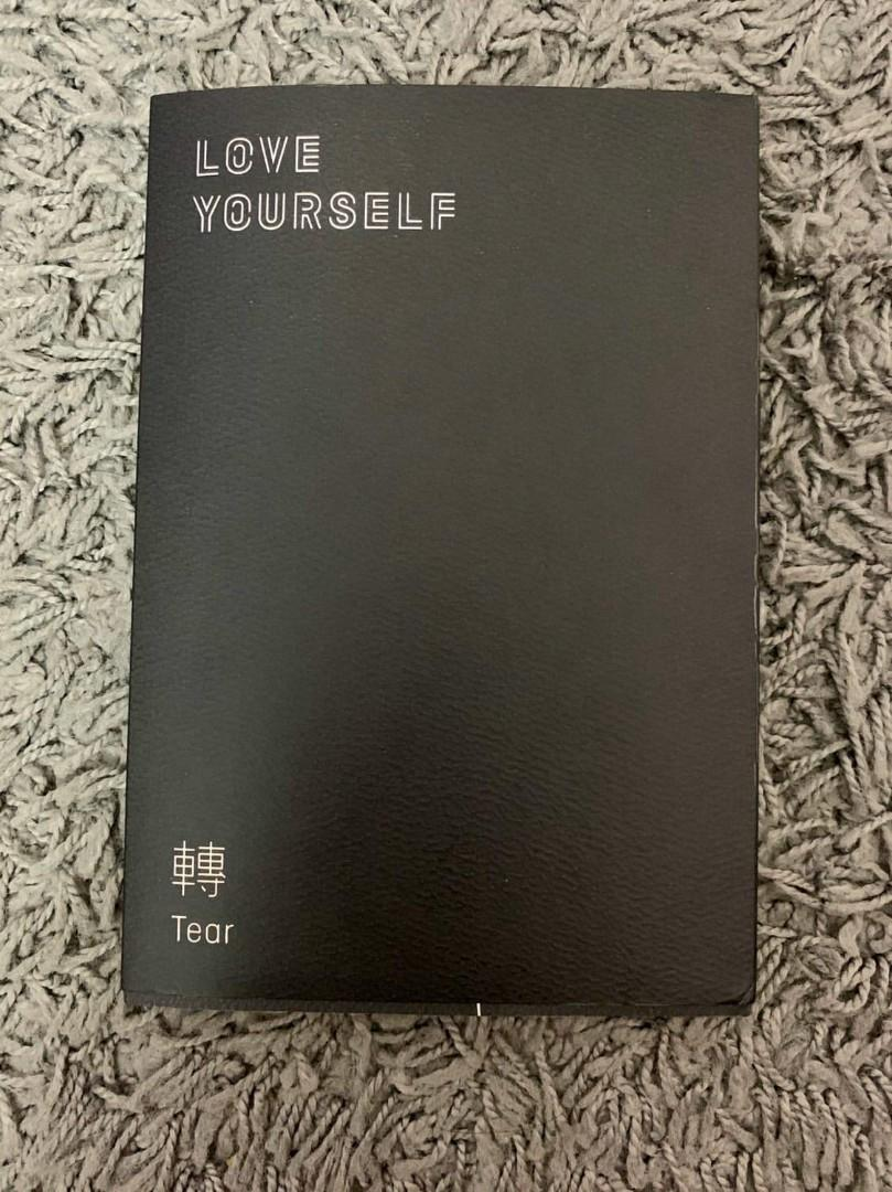 Bts love yourself tear album (y version) + include poster