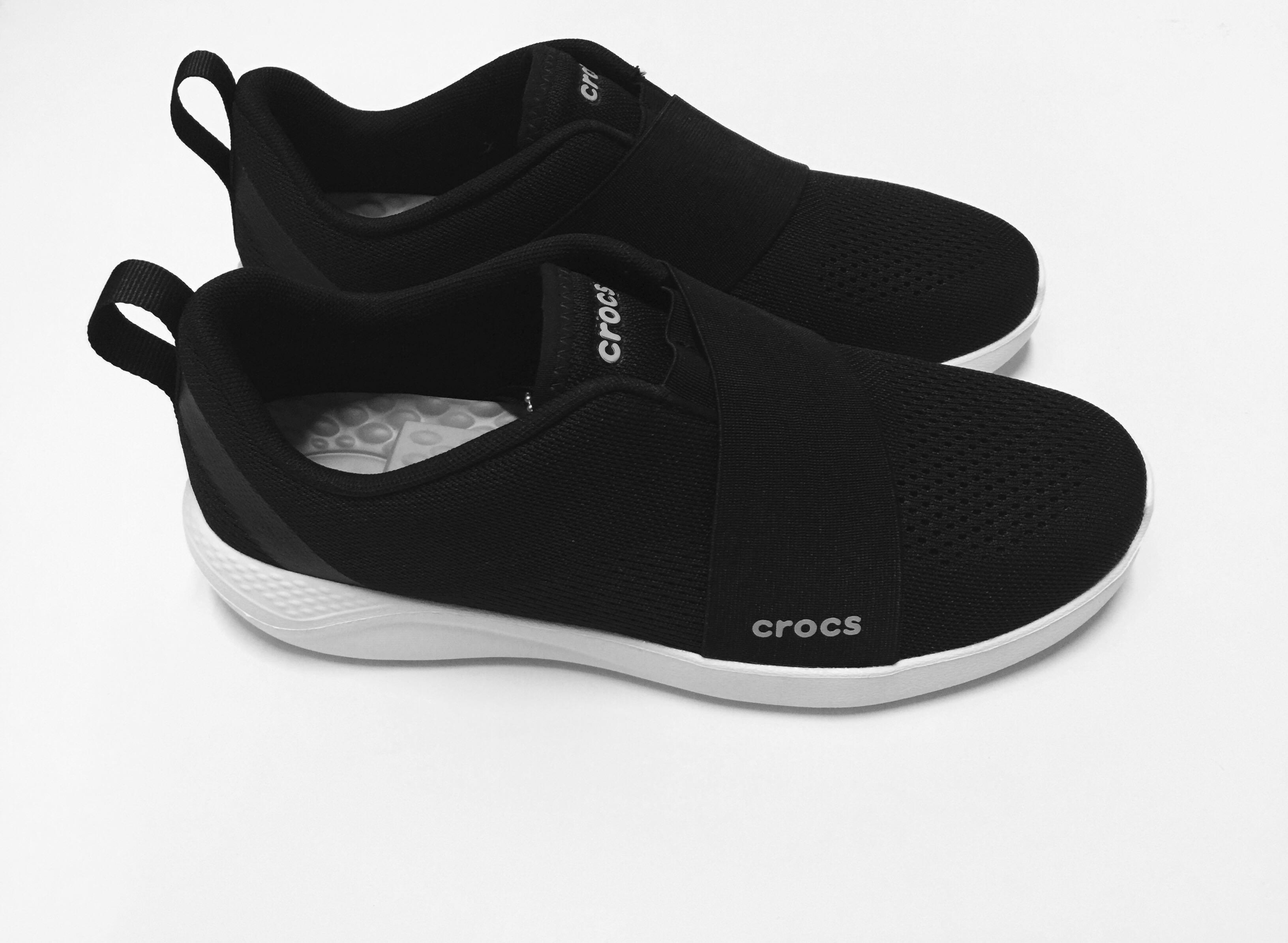 LiteRide modform slip on black shoes