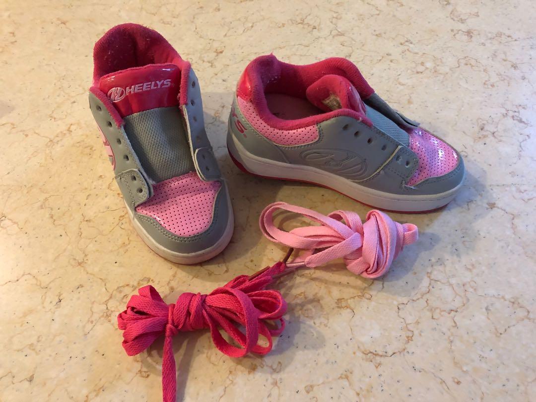 Heelys skate shoes (UK kid size 11) on