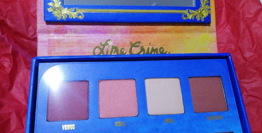 LIMECRIME LIME CRIME VENUS EYE SHADOW PALETTE BRAND NEW & AUTHENTIC [NO SWAPS, PRICE IS FIRM]