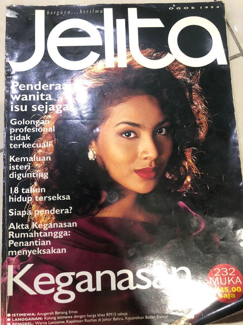 Majalah lama - jelita, Books & Stationery, Magazines & Others on ...
