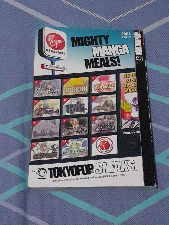 Manga/Anime Books (Arpeggio/Mighty Manga Meals/TokyoPop Sneaks)