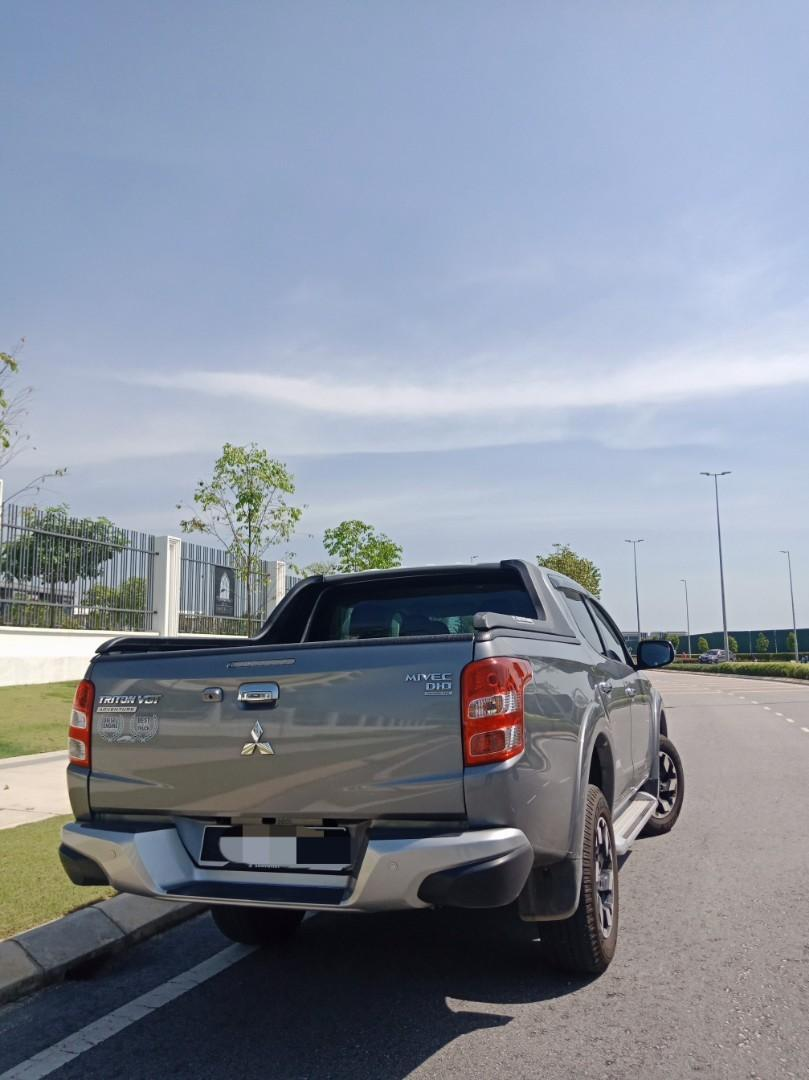 Mitsubishi Triton VGT 2.5(A) 4x4 Pickup Sewa Selangor KL