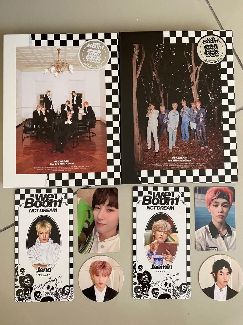 NCT DREAM - Boom (include pc, circle card & scratch card)