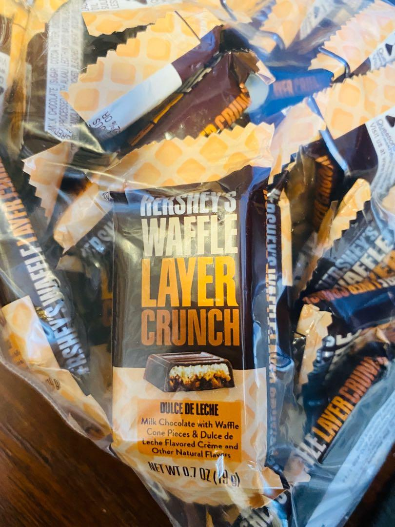 Pack of 40 Hershey's Waffle Layer Crunch Delicious Chocolate