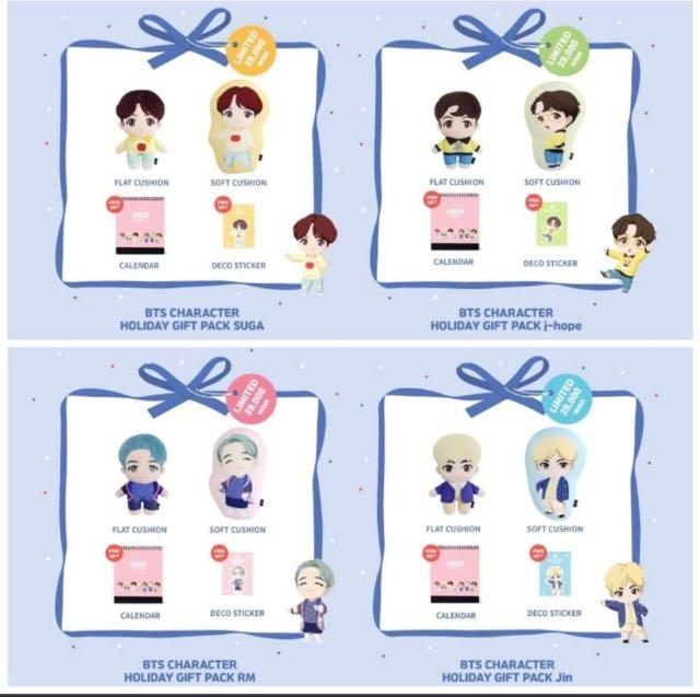 ❗️PRE ORDER BTS X NARA HOME DECO CHARACTER HOLIDAY GIFT PACK❗️