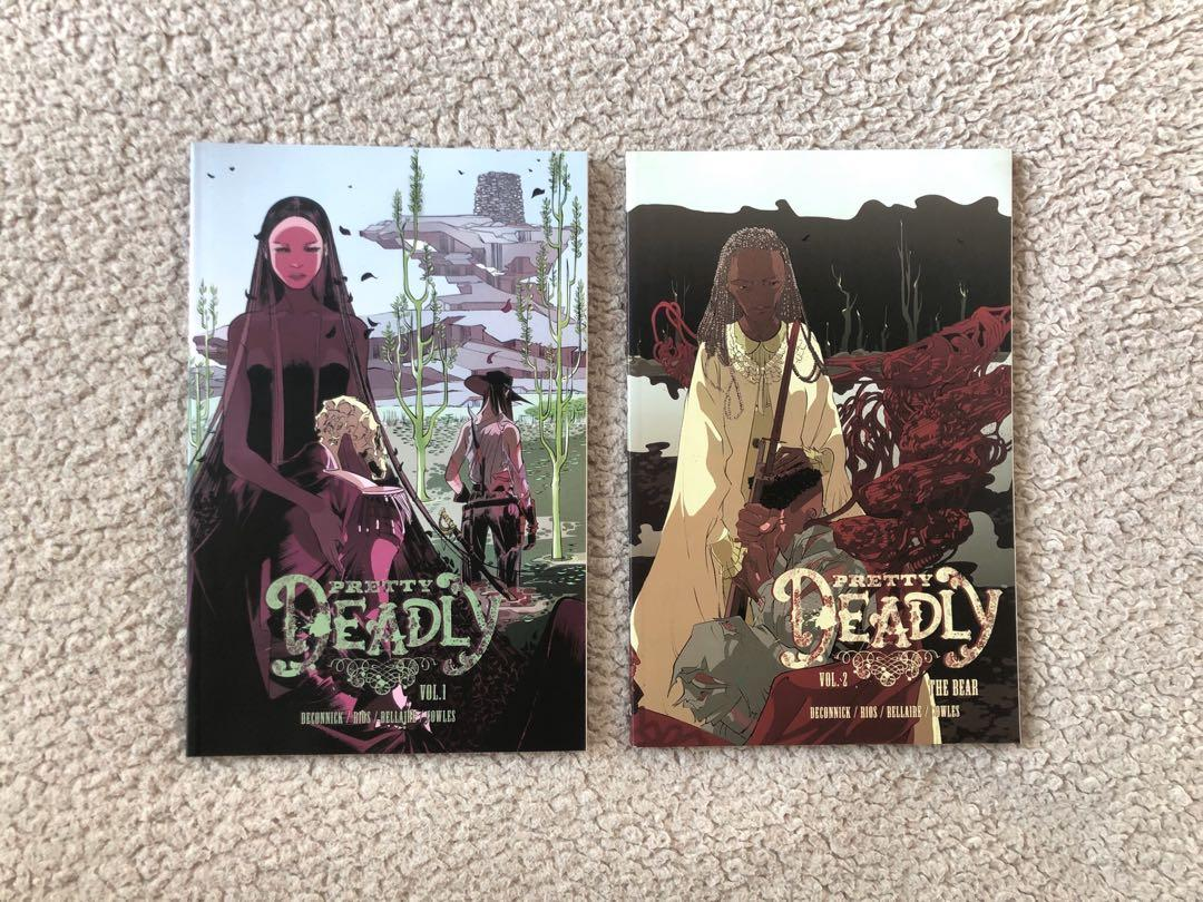 Pretty Deadly Graphic Novel TPB Vol 1 + 2 Kelly Sue DeConnick Emma Rios