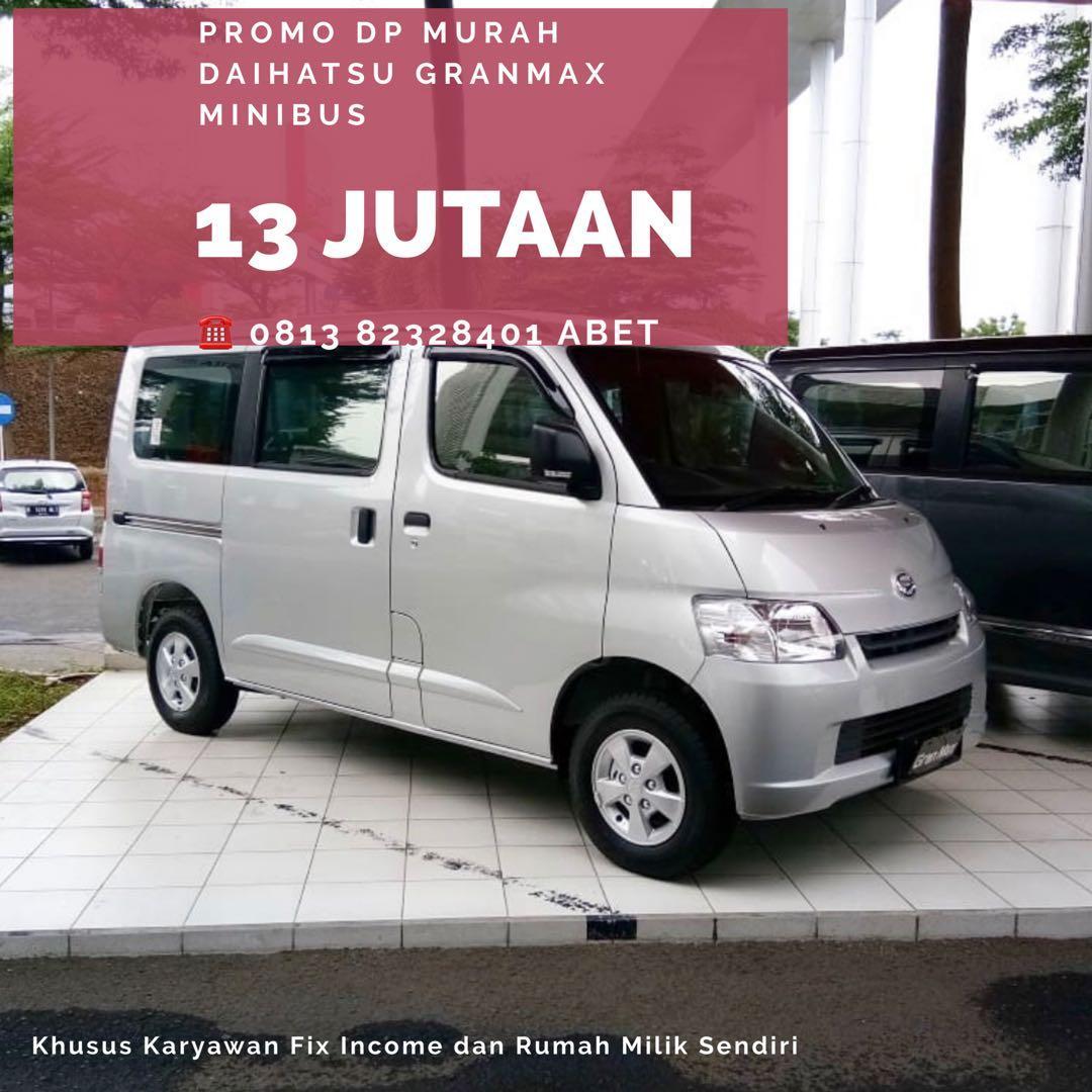 PROMO AWAL TAHUN Daihatsu Granmax Minibus DP MURAH mulai 13 jutaan