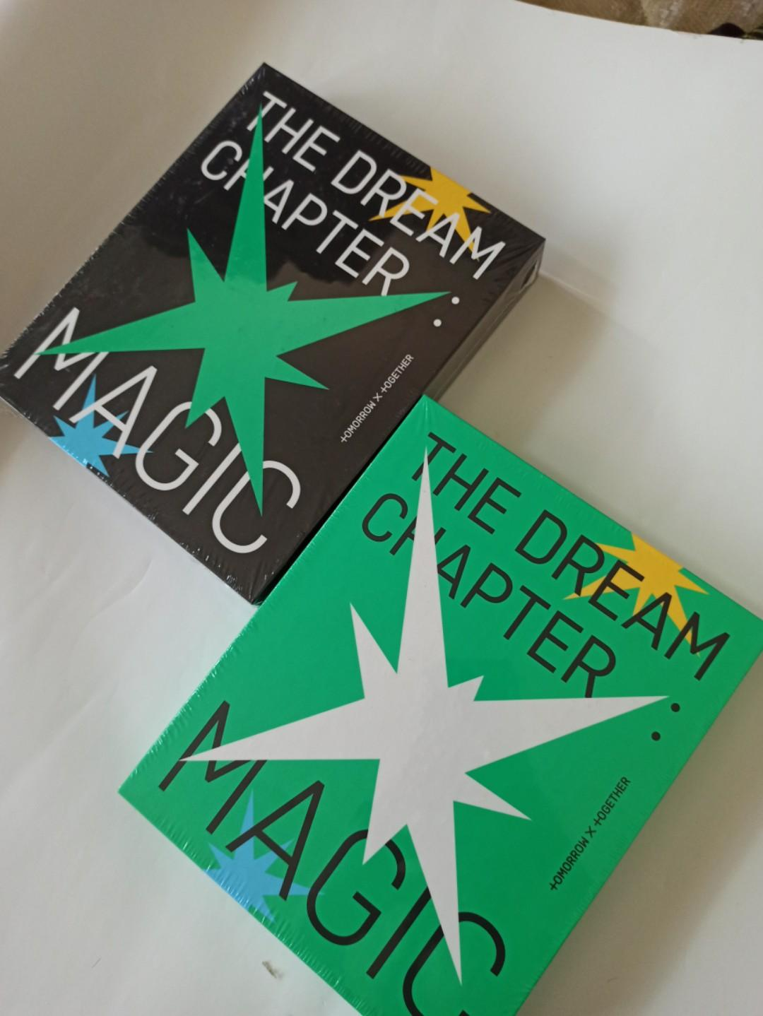 READYSTOCK-SEALED] TXT(TOMORROW X TOGRTHER) - THE DREAM CHAPTER: MAGIC
