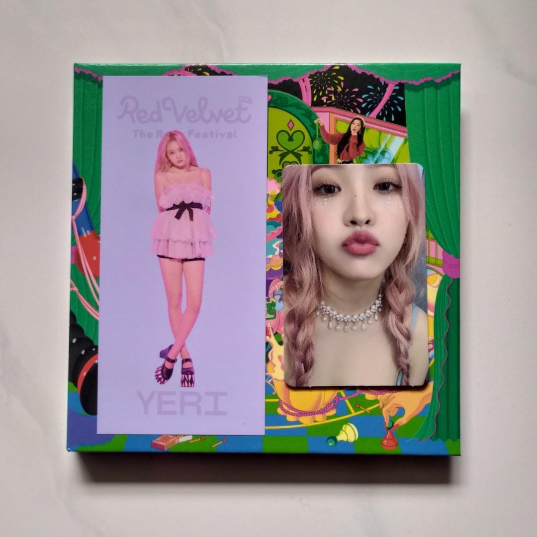 Red Velvet RV Album The ReVe Festival' Finale [Scrapbook Ver.] + Folded Poster
