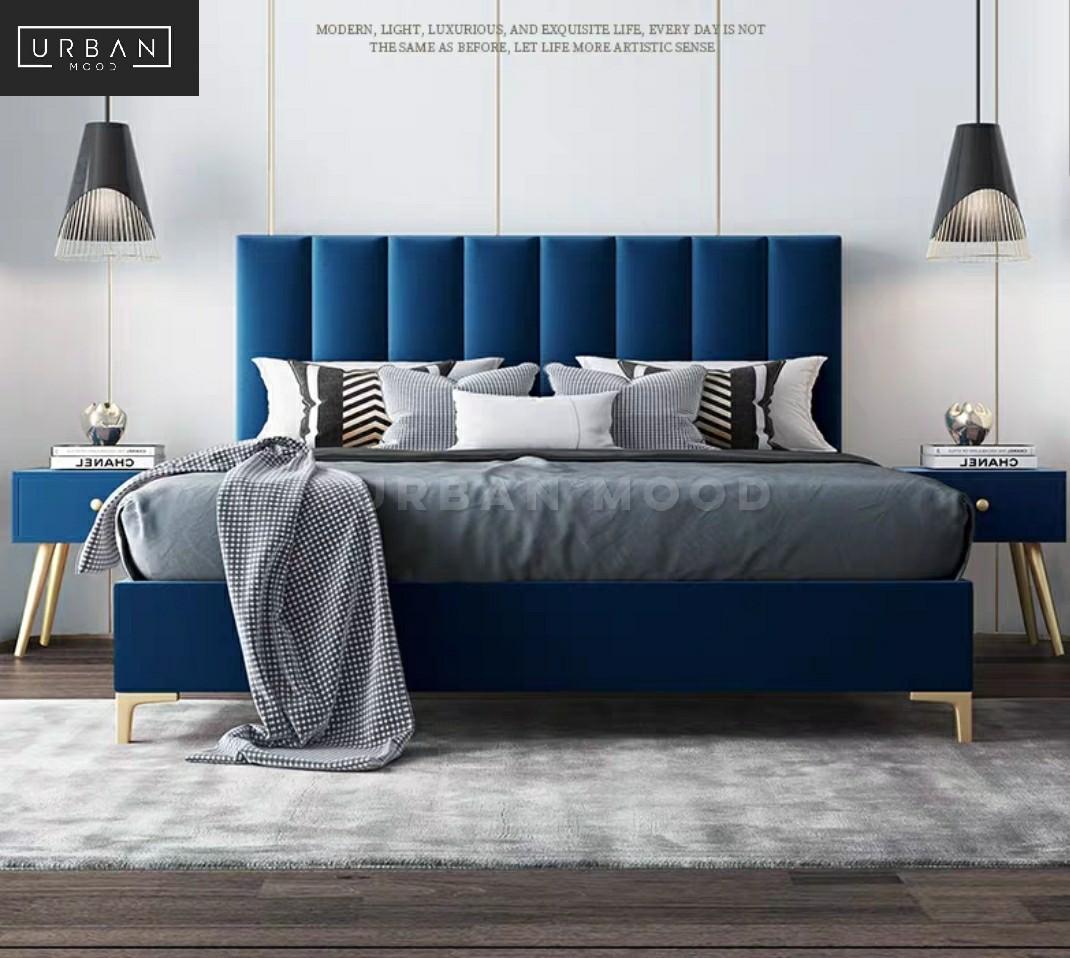 Reiss Modern Velvet Bedframe Furniture Beds Mattresses On Carousell