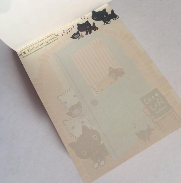 SET OF 3 Kawaii Japan/Korea Notepads Stationery Memo Pads - Skull / San-X Kutusitanyanko / Joseon Couple