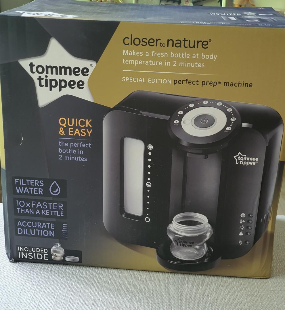 Black Tommee Tippee Perfect Prep Machine