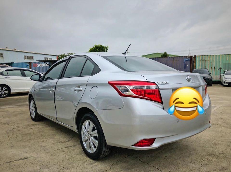 Toyota vios E版 2015年 銀色🔷🔹超低月付 3990 起 強力貸款 強力過件🔹🔷