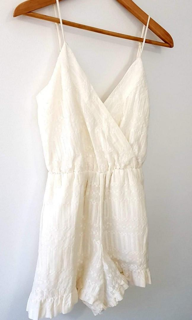 Tularosa XS Cream Jumpsuit - FREE SHIPPING with the purchase of 2 or more of my listed items