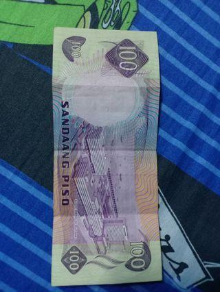one hundred pesos