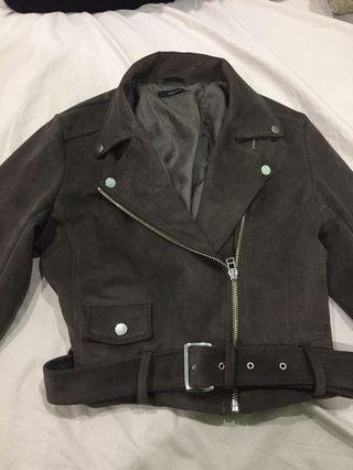 Aritzia Suede Jacket