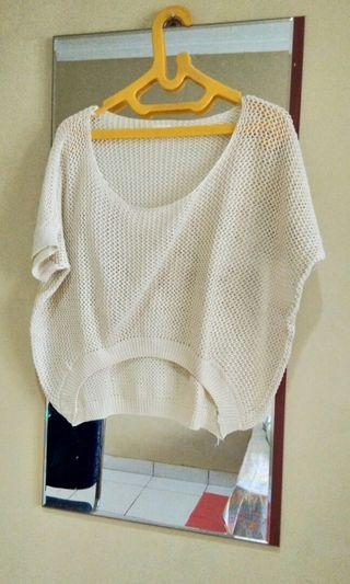 Crop Top Knit Outer