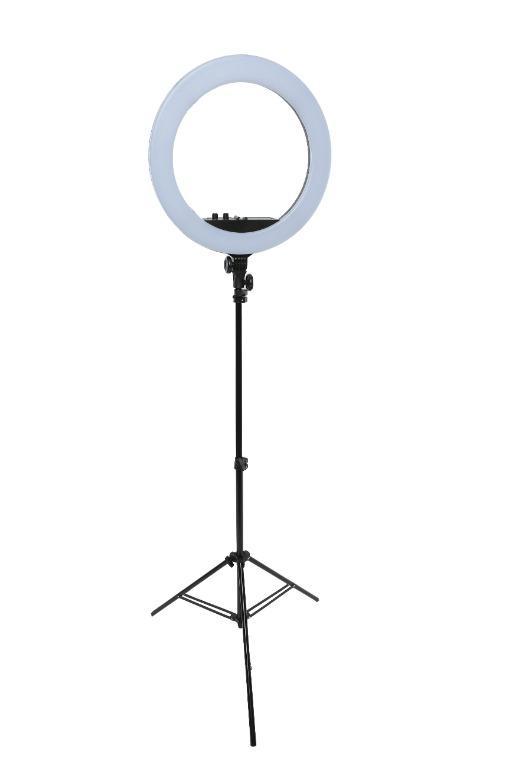 """BRAND NEW / 18"""" LED Diva Ring Light Kit / photovideospot.ca"""